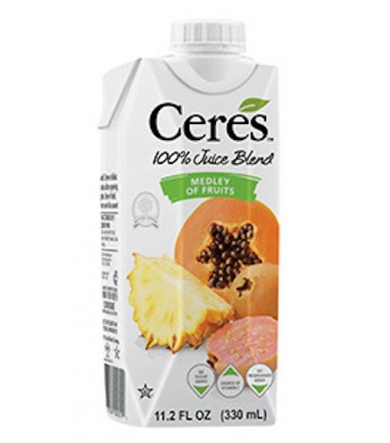 [Ceres] 100% Pure Fruit Juice Medley of Fruits