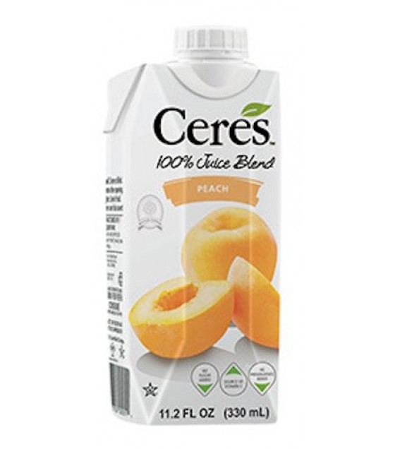 [Ceres] 100% Pure Fruit Juice Peach