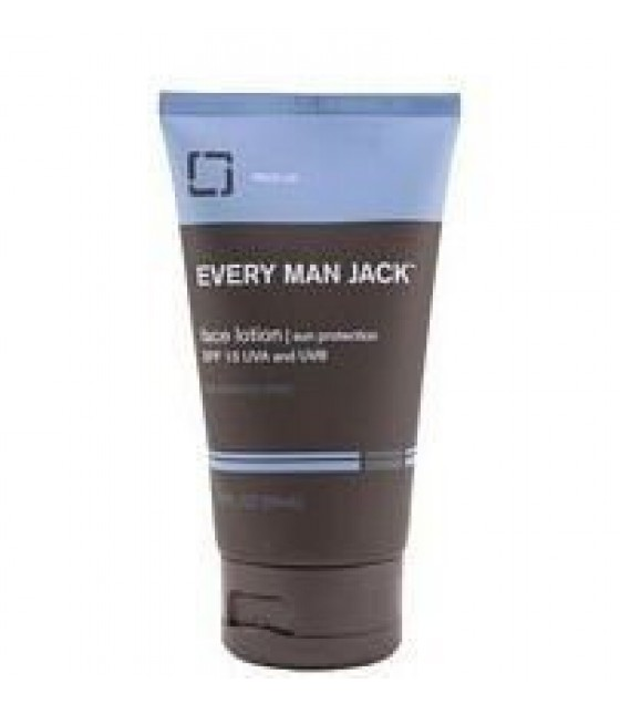 [Every Man Jack] Face Lotion SPF15, Frag-Free