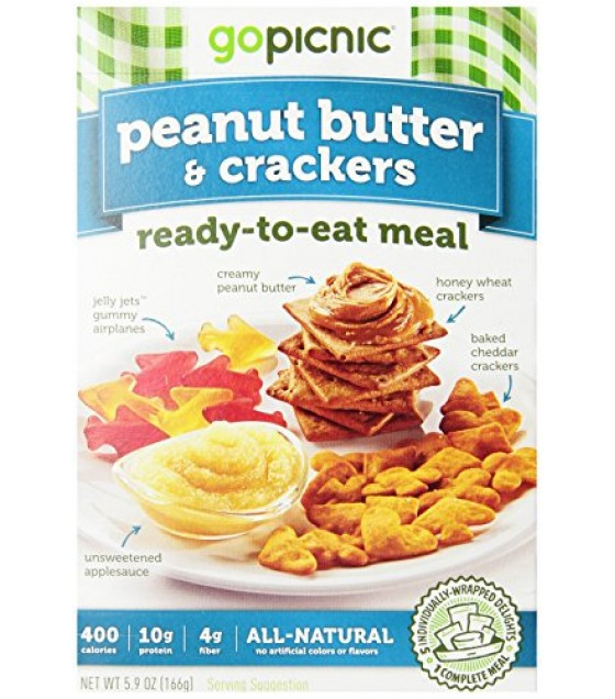 [Gopicnic] Ready To Eat Meals Peanut Butter & Crackers