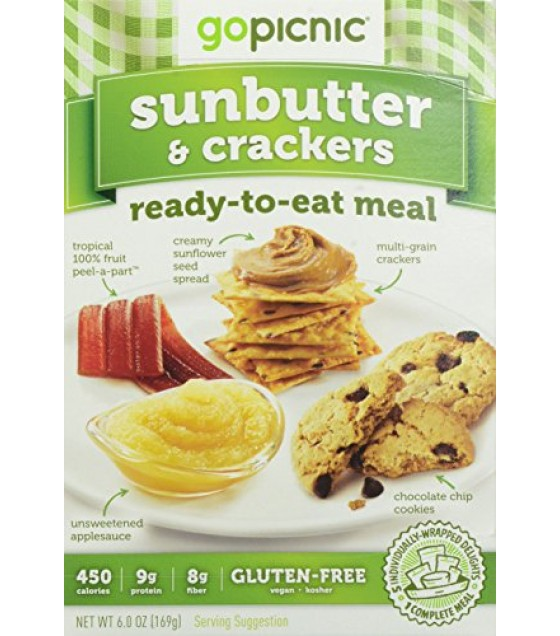 [Gopicnic] Ready To Eat Meals Sunbutter & Crackers