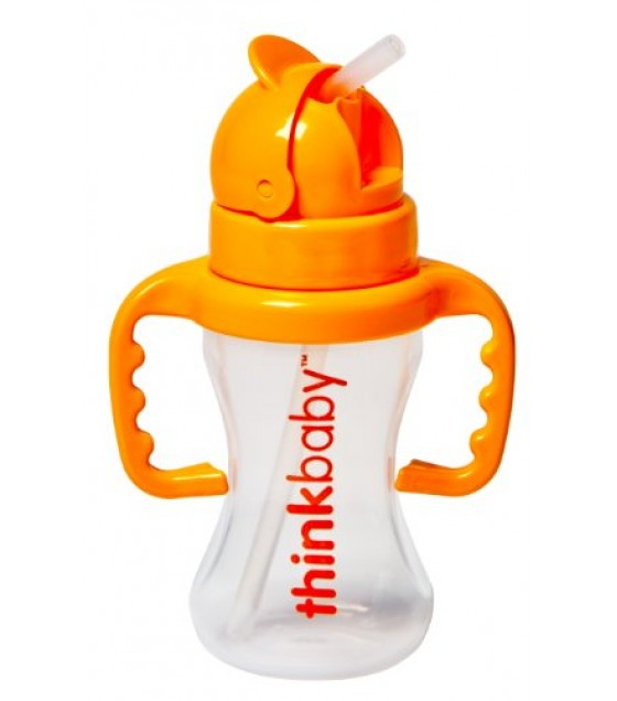 [Thinkbaby] Thinksters Bottle W/Straw