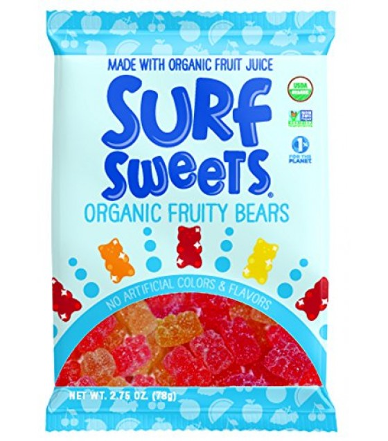 [Surf Sweets]  Fruity Bears  At least 95% Organic