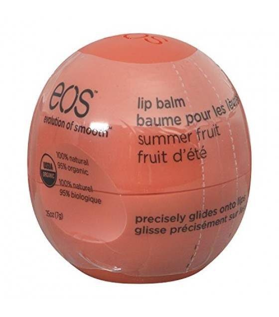 [Eos] Lip Balm Spheres Summer Fruit  At least 95% Organic