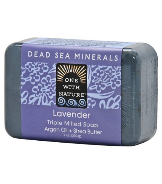 [One With Nature] Bar Soaps Lavender