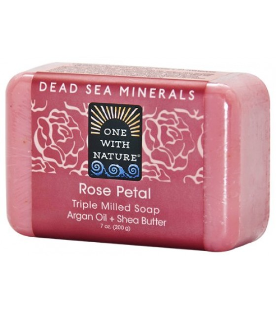 [One With Nature] Bar Soaps Rose Petal