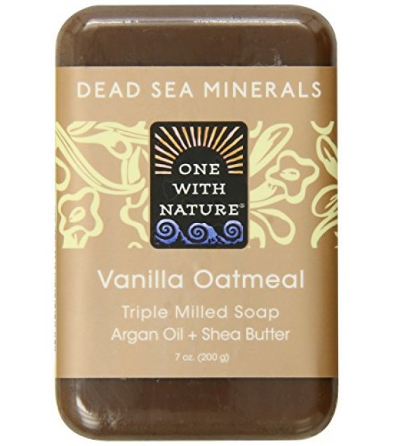 [One With Nature] Bar Soaps Vanilla Oatmeal