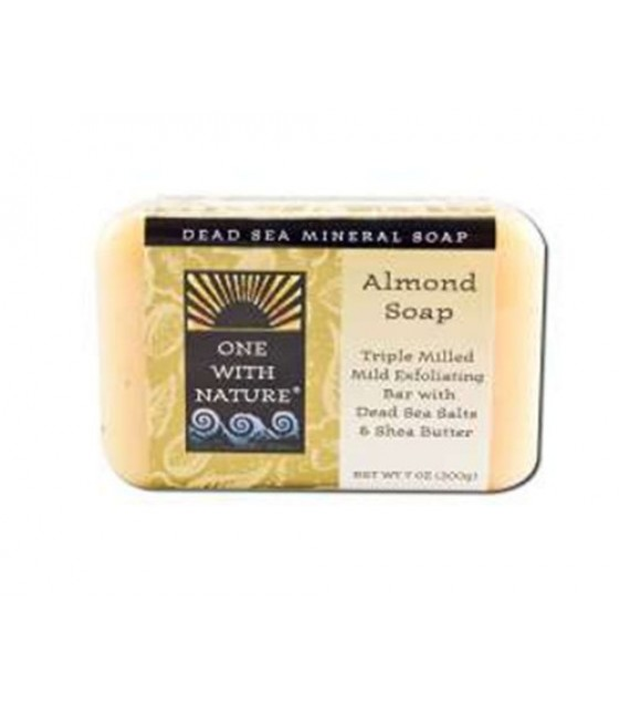 [One With Nature] Bar Soaps Almond