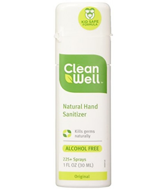 [Cleanwell] Spray Hand Sanitizers Natural
