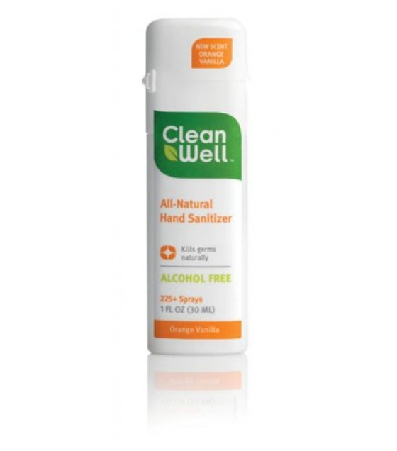 [Cleanwell] Spray Hand Sanitizers Orange Vanilla