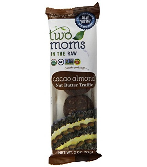 [Two Moms In The Raw] Truffles Cacao Almond Nut Butter  100% Organic