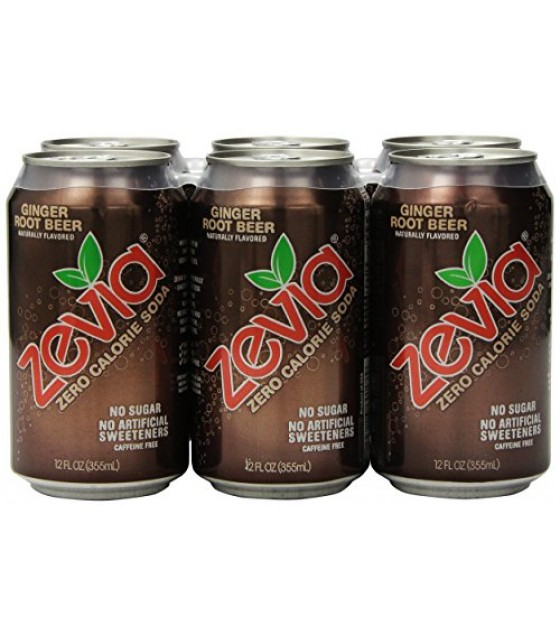 [Zevia] Zero Calorie Soda Ginger Root Beer