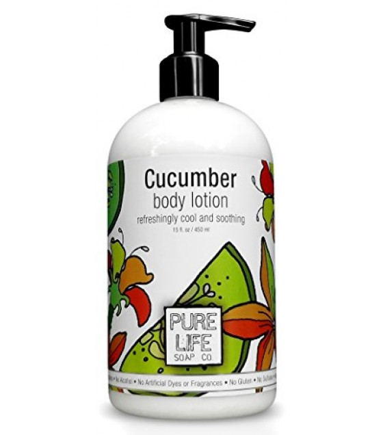 [Pure Life Soap] LOTION,CUCUMBER