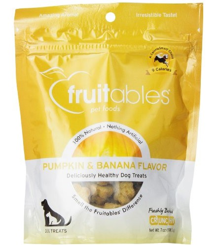 [Fruitables] Dog Treats Pumpkin & Banana Mix