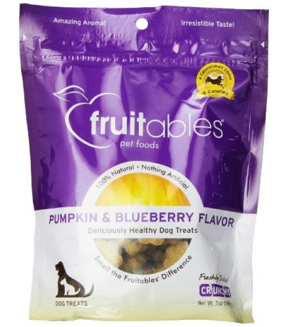 [Fruitables] Dog Treats Pumpkin & Blueberry Mix