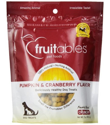 [Fruitables] Dog Treats Pumpkin & Cranberry Mix