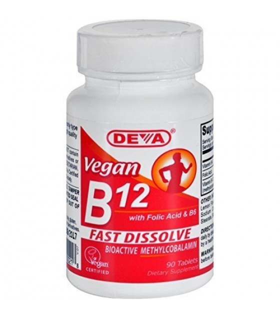[Deva Vegan Vitamins] SUBLINGUAL B-12,VEGAN