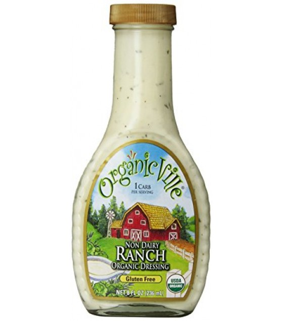 [Organicville] Salad Dressings Ranch, DF  At least 95% Organic