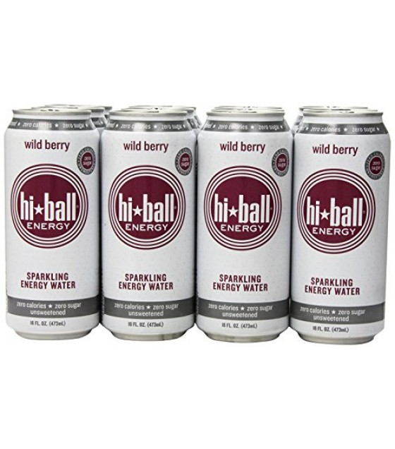 [Hi*Ball] Sparkling Energy Waters Wild Berry