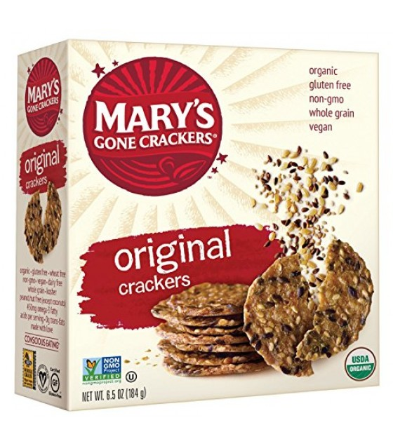 [Mary`S Gone Crackers] Crackers Original  At least 95% Organic