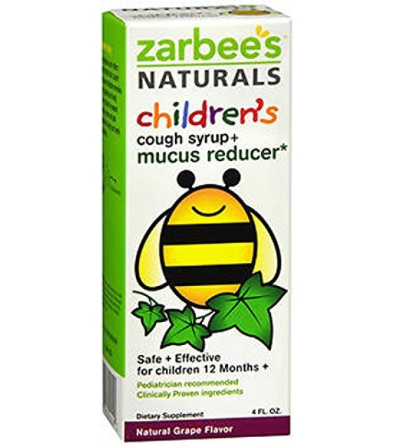 [zarbee's] Cough Syrup & Mucus,kids