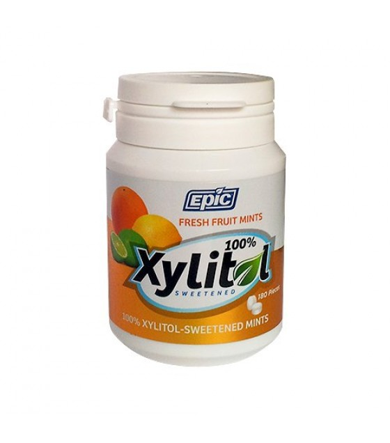 [Epic Dental] MINTS,XYLITOL,FRUIT,BOTTL