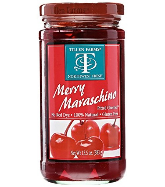 [Tillen Farms] Fruit Cherries, Merry Maraschino