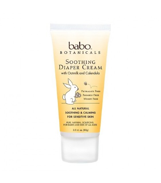 [Babo Botanicals]  Diaper Cream, Soothing