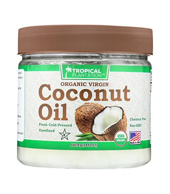 [tropical Plantation] Organic Coconut Oil